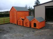 Quality Hand Made Dog Houses