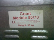 Boiler burner Grant Module 50/70 Riello RDB with Radiators