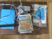 blue wii unwanted christmas present almost new