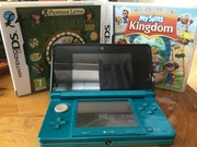 Blue 3ds and 2 games!