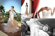 Rochester Ivory Pearl Wedding Dress